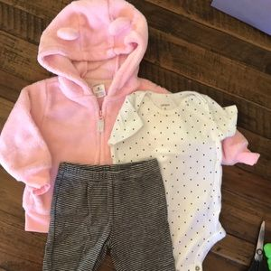 Baby girls complete outfit